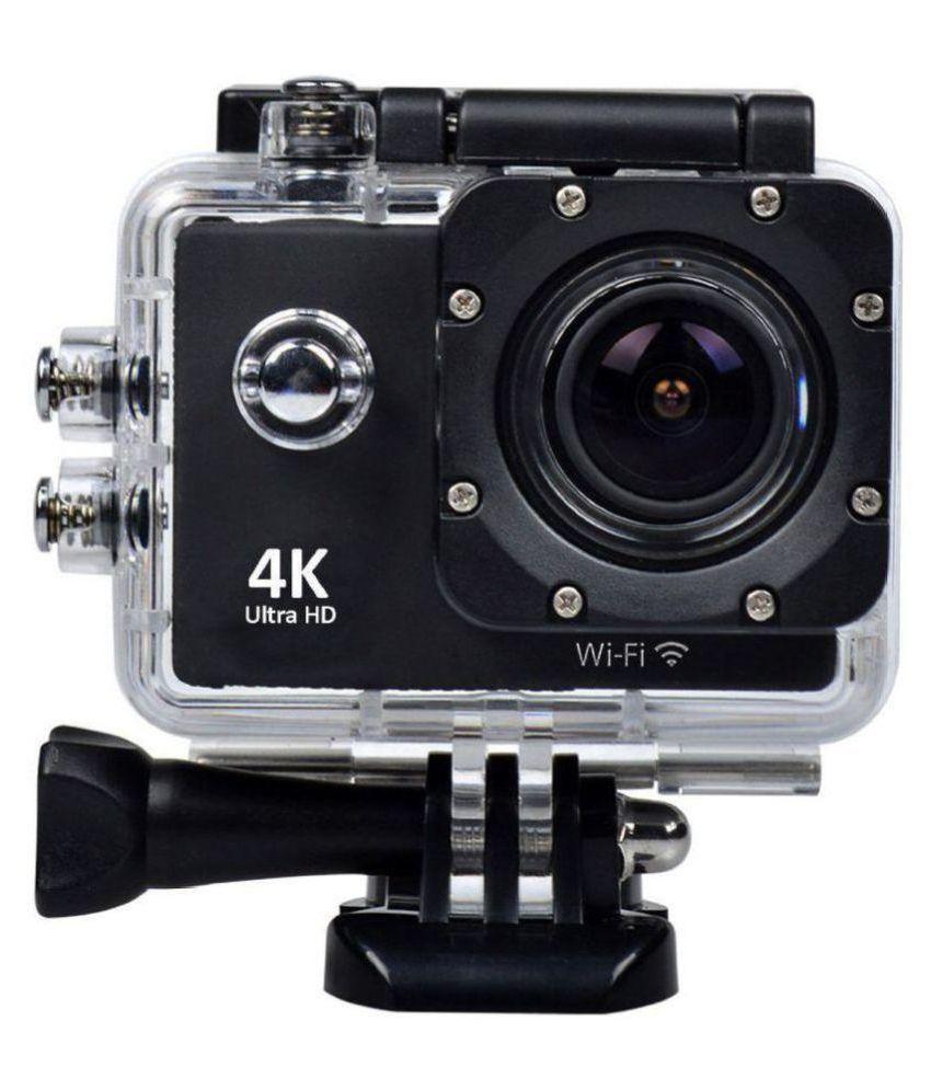 b74b59e44 WILES Waterproof Sports Action Camera - 4K Ultra HD 1920 x 1080 (Full HD)   30p   25p   24p) MP Video Camera Price in India- Buy WILES Waterproof Sports  ...