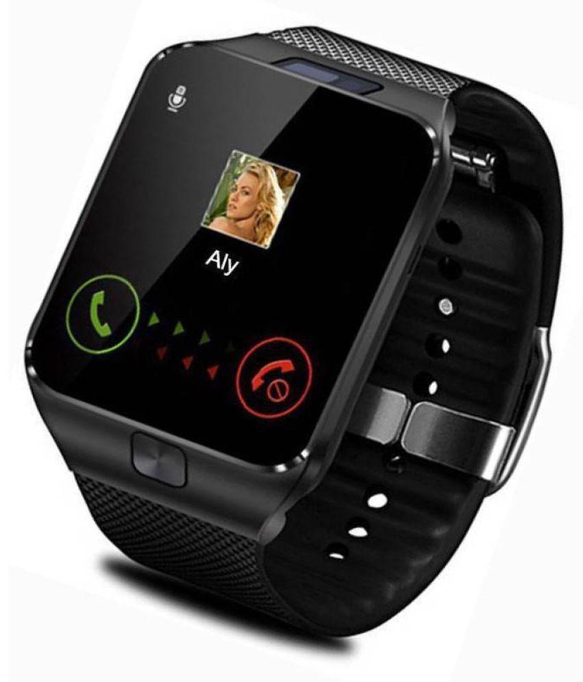 db12557a6 Digital Black Smart Watch - dz09 Price in India  Buy Digital Black Smart  Watch - dz09 Online at Snapdeal