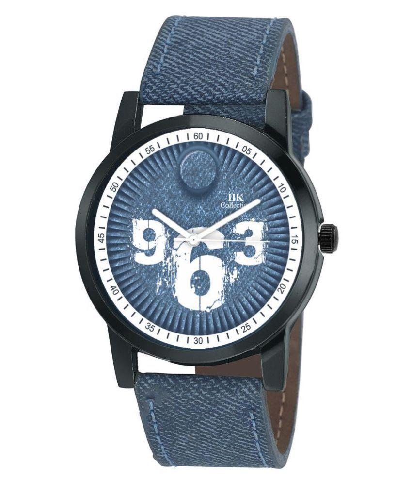 IIK COLLECTION IIK 954M Leather Analog Men #039;s Watch