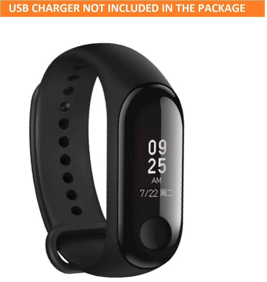 Smart Band M3 Plus Heart Rate Monitor Fitness Activity Tracker Bracelet Pedometer Blood Pressure Wristband