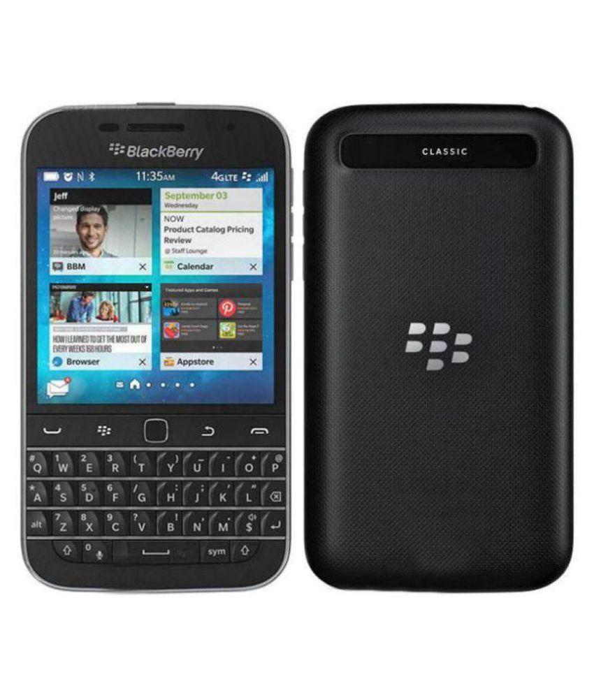 Blackberry Q20 NON CAMERA ( 16GB , 2 GB ) Black