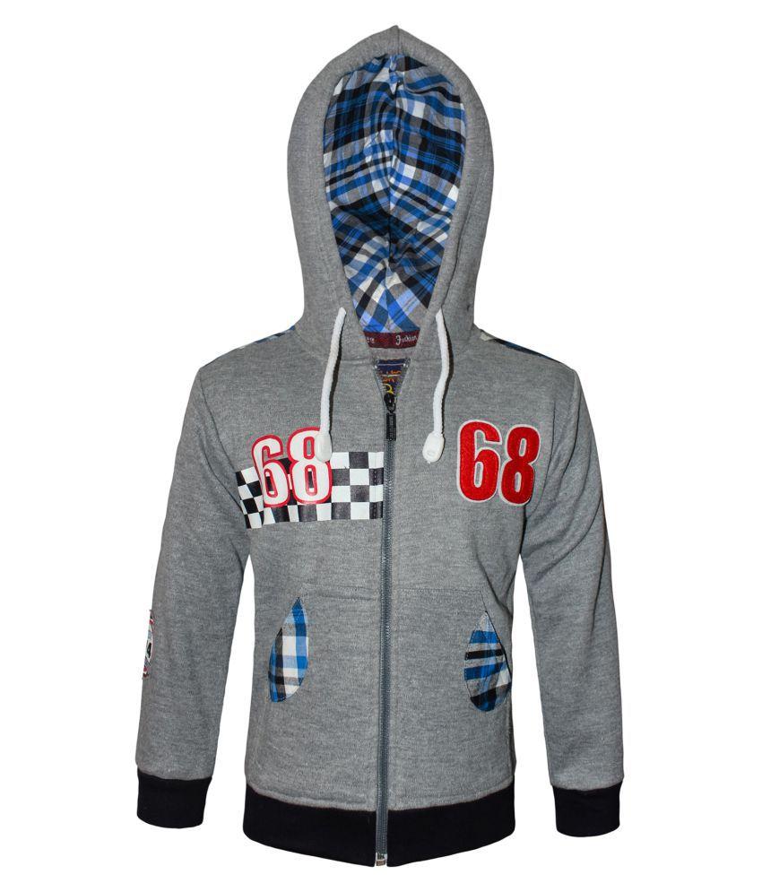 Kothari Boys Full Sleeve hooded sweatshirt pack of 1