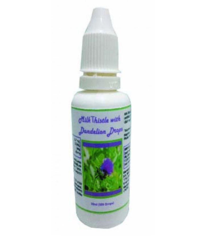 Hawaiian Herbals Milk Thistle & Dandelion Drops - {BUY ANY HAWAIIAN HERBAL SUPPLEMENT GET THE SAME 60ML DROPS + DETOX FOOT PAD + 100 GM CHAMAN KISMIS (RAISIN) FREE} 12 ml Minerals Syrup