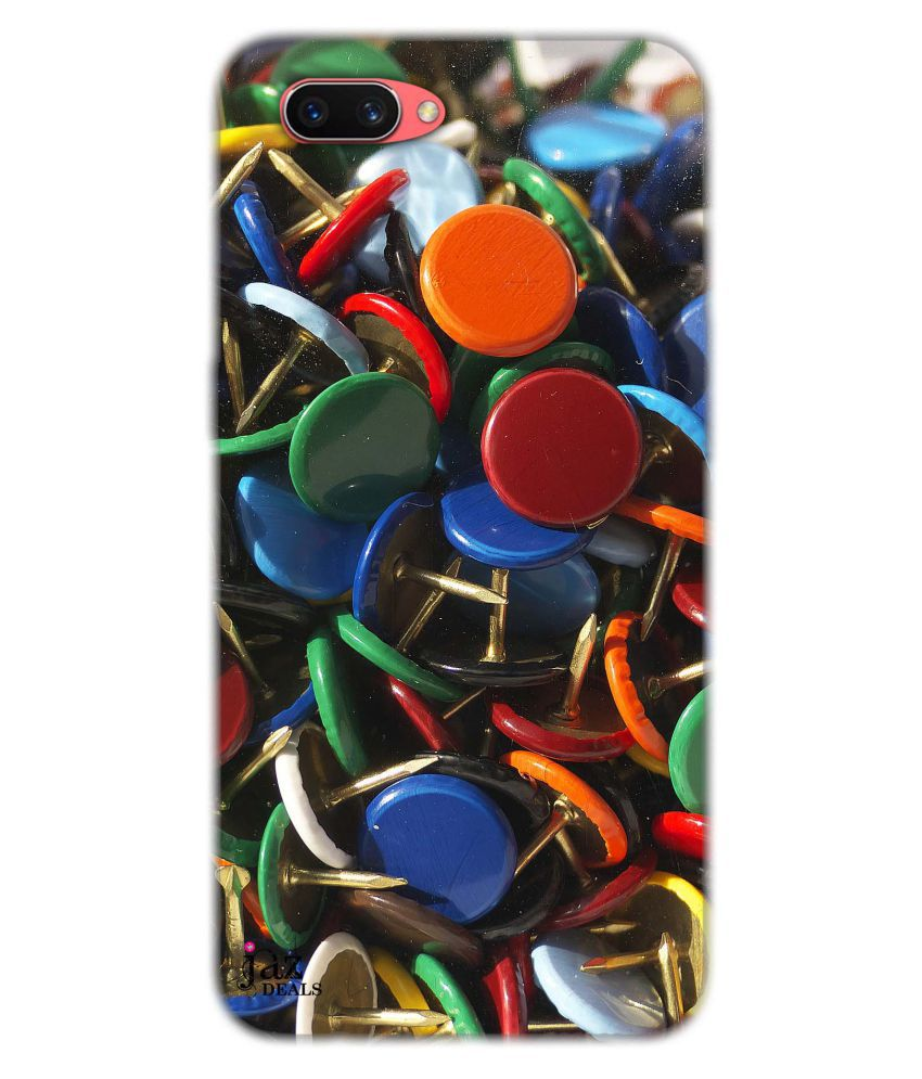 Oppo A5 Printed Cover By Jaz Deals Nails Print Hard Cover