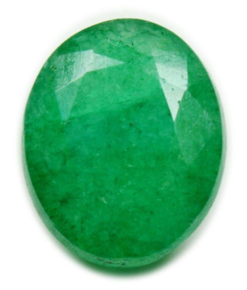 caratyogi 3 -Ratti Self certified Green Emerald Semi-precious Gemstone