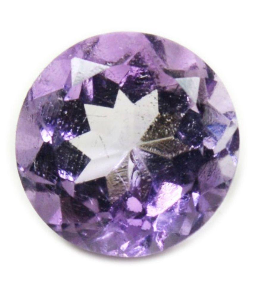 Jewelryonclick 6 -Ratti Self certified Purple Amethyst Semi-precious Gemstone