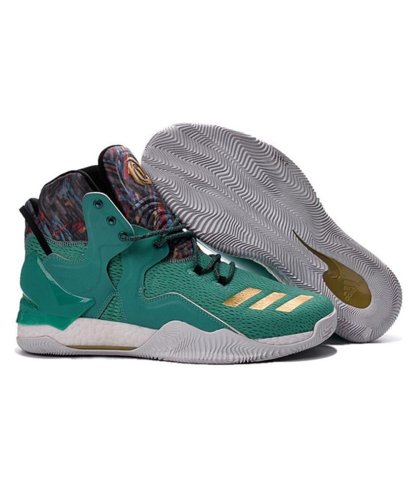 69678cfc7582 Adidas D ROSE 7 PRIMEKNIT Green Basketball Shoes - Buy Adidas D ROSE 7  PRIMEKNIT Green Basketball Shoes Online at Best Prices in India on Snapdeal
