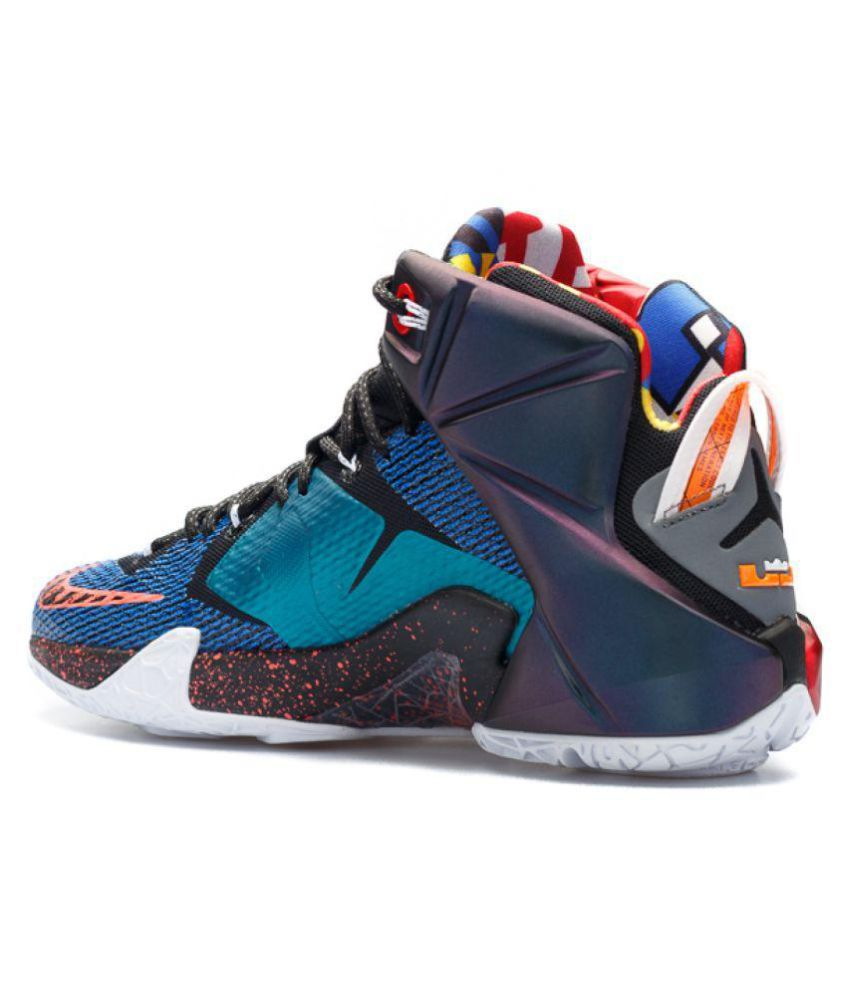 df22716b3 Nike LEBRON 12 Multi Color Basketball Shoes - Buy Nike LEBRON 12 ...