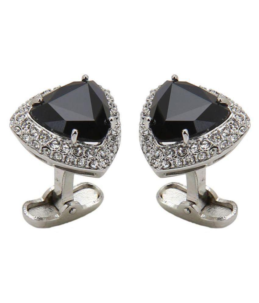 Beadnicks Heart Jewellery Silver Brass & Copper etc Cufflinks
