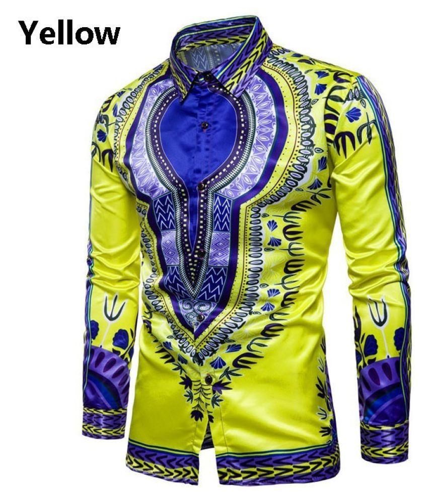 Haorun Yellow Full Sleeve T-Shirt