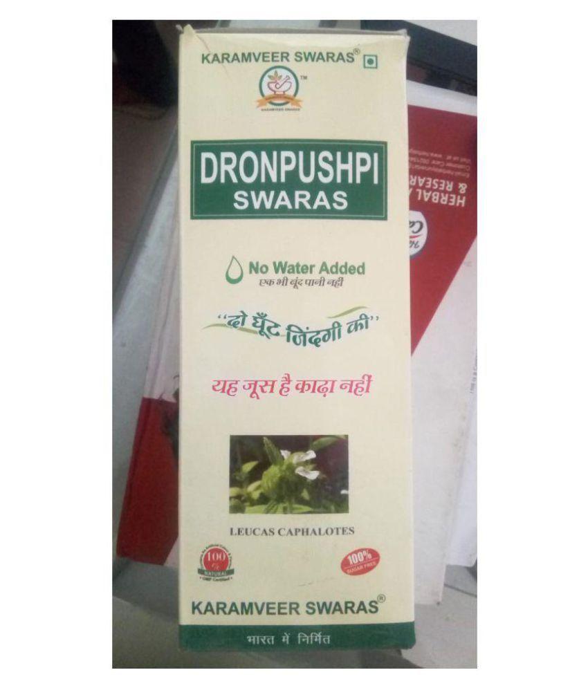 Karamveer Swaras DRONPUSPI JUICE Liquid 500 ml