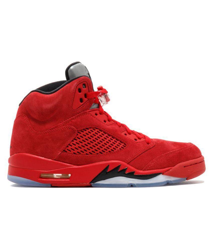 Buy Nike Jordan Retro 5 Red Basketball