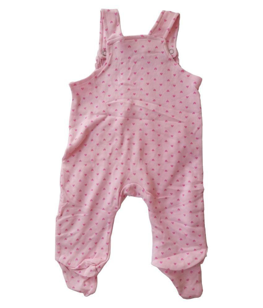 f876f6006632 Messybaby Pink Sleeveless Jumpsuit Dungaree Romper Baby Girl - Buy ...