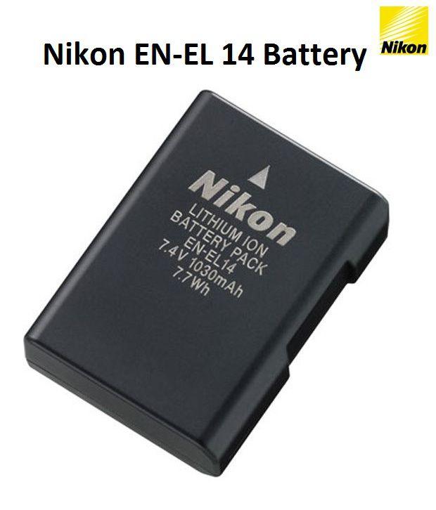 Nikon EN  EL 14  1030 mah   Rechargeable Battery 1