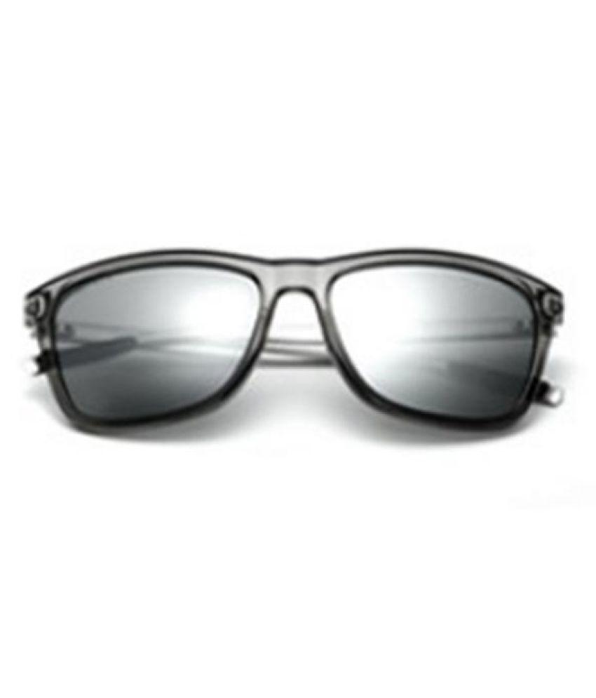 Men Classic Square Bright Polarized Sunglasses Travel Casual Driving UV400 Glasses
