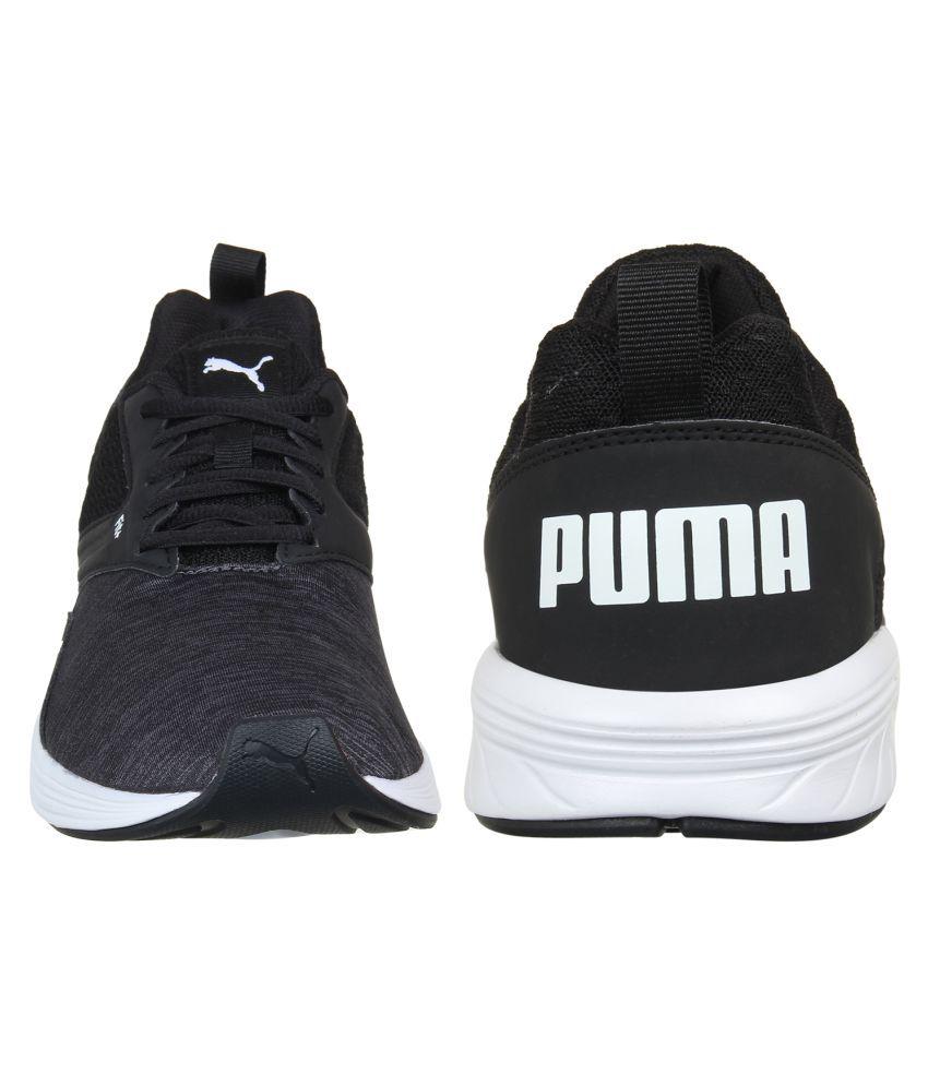 Puma Nrgy Comet Running Shoes Black