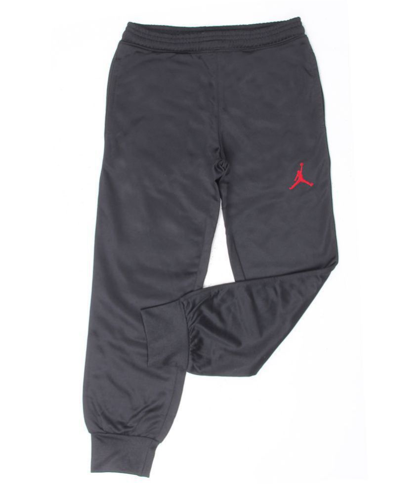 541b6dc6acbeaf Jordan Boys Black Solid Track Pant - Buy Jordan Boys Black Solid Track Pant  Online at Low Price - Snapdeal