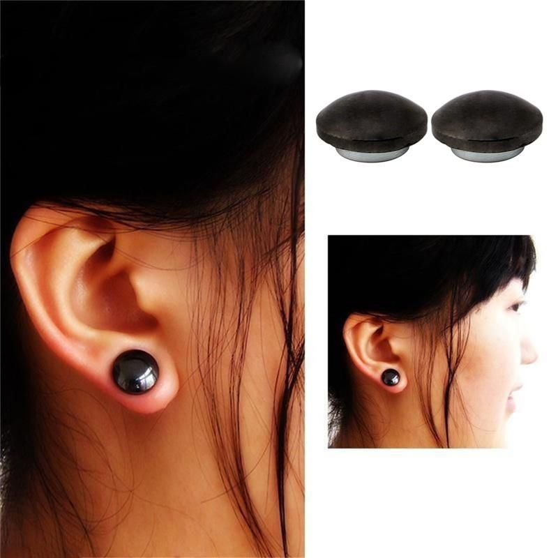 Magnetic Healthcare Earring Weight Loss Earrings Slimming Ear Healthy Stimulating Acupoints Stud Earring Magnetic Therapy