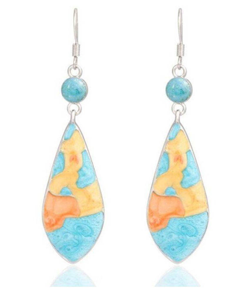 Women Fashion Vintage Style Multicolor Drop Earrings Jewelry Gift