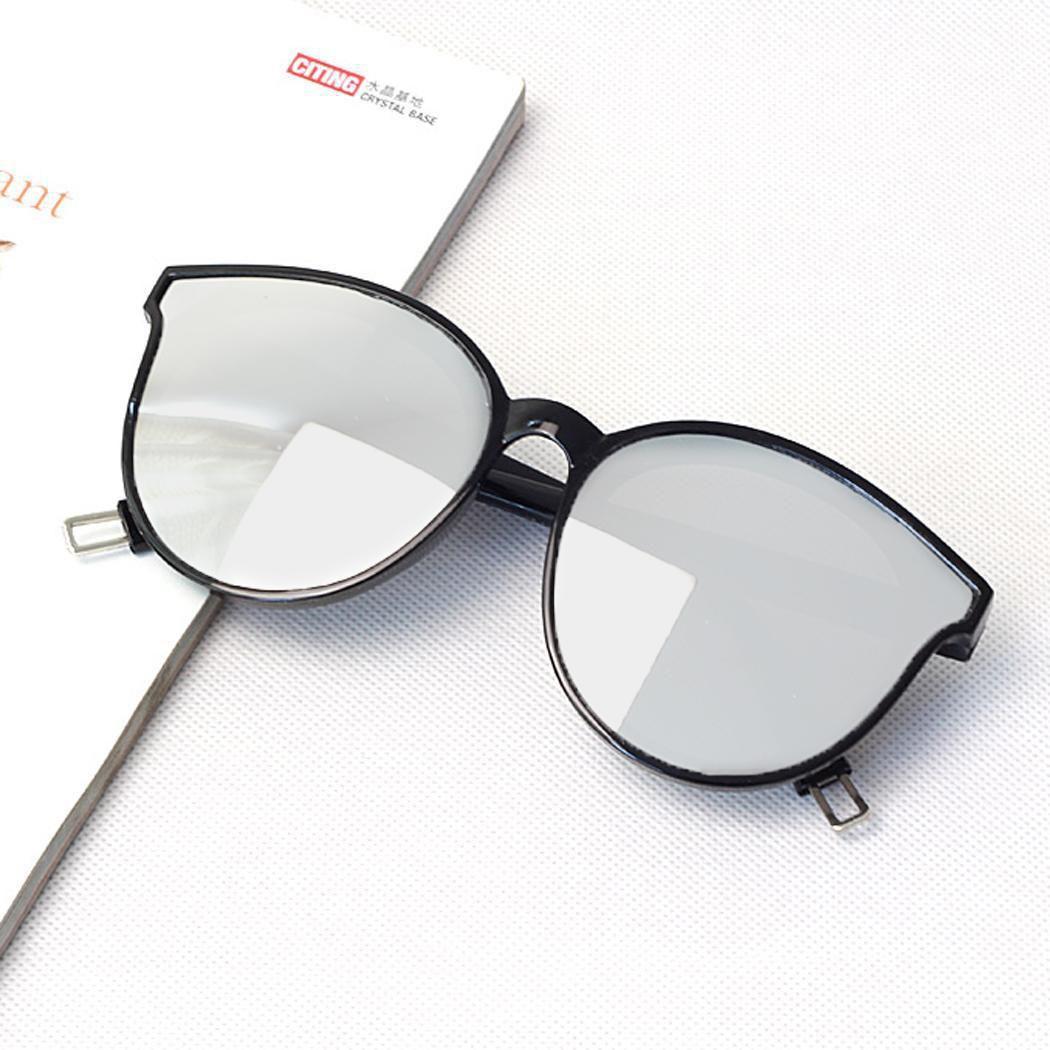 Unisex Korean-Style Fashion Casual Plastic Big-Frame Anti-UV Sunglasses