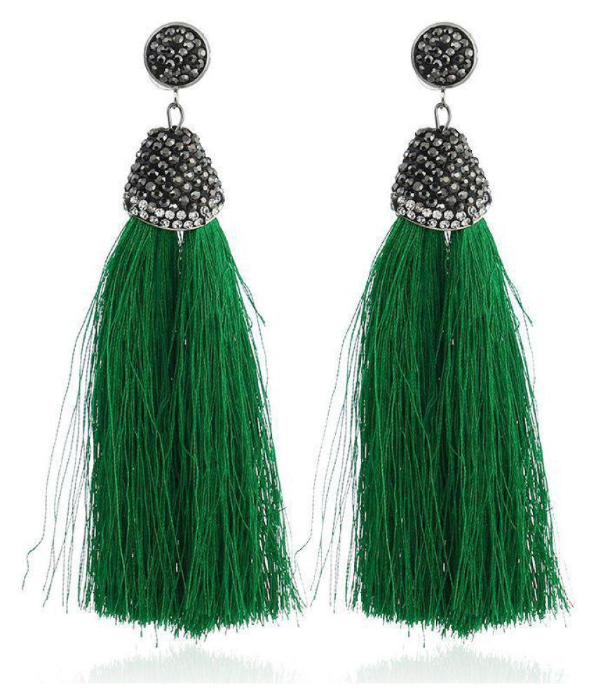 New Women Fashion Earrings Jewelry Trendy Tassel Earrings Charm Wedding Gift