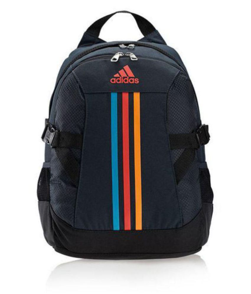 64319c0e38a8 Adidas Black Polyester College Bag - Buy Adidas Black Polyester College Bag  Online at Best Prices in India on Snapdeal