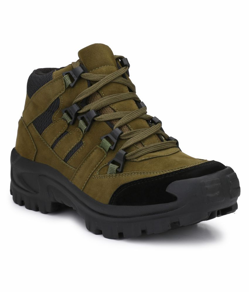 6dd0534e8205 Buy swag onn mid ankle olive green safety shoes online at low price jpg  850x995 Swag