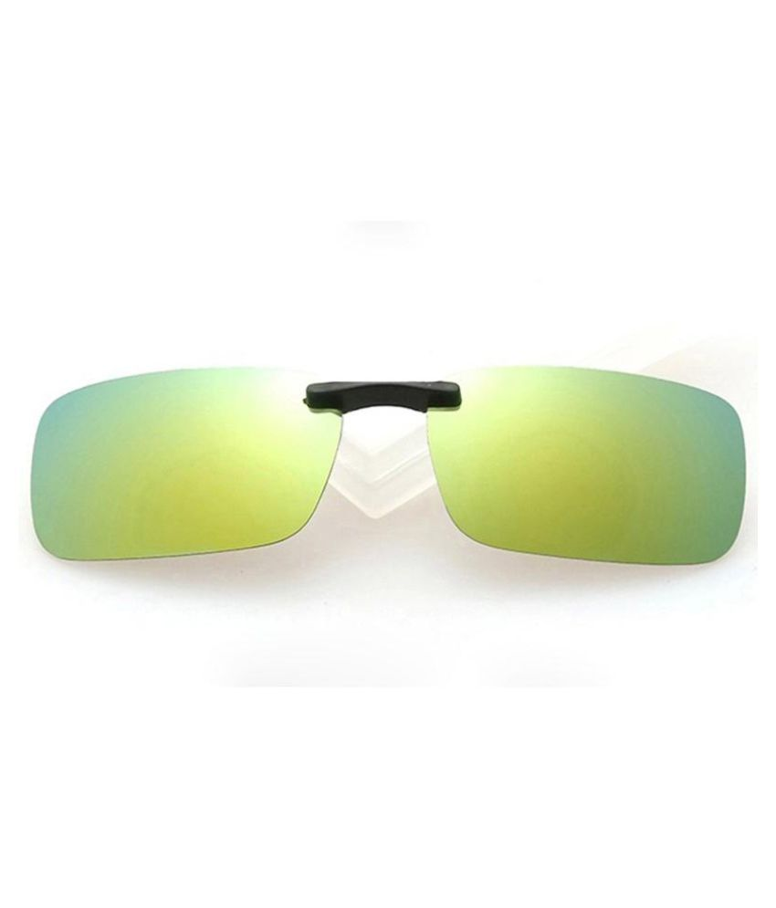 Mens Womens Driver Light Polarized Sunglasses Clip Myopia Glasses Sunglasses clip