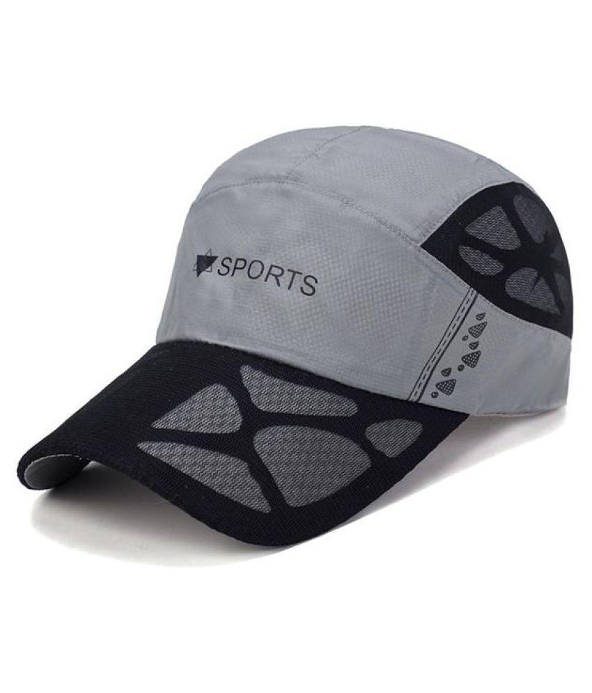 bdb8f709d7390 ... Men Women Summer Quick Dry Baseball Cap Breathable Mesh Visor Cap Cool  Sports Cap ...