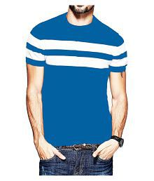 Veirdo Blue Half Sleeve T-Shirt