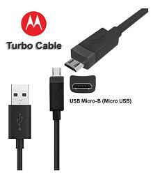 Motorola USB Data Cable Black - 1 Meter