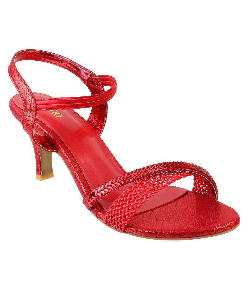 Metro RED Stiletto Heels