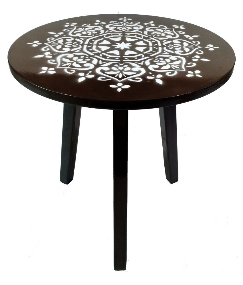 Hennings 3 Leg Side/ End Table/Coffee/Center Table - Star