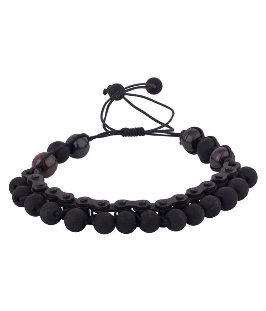 Dare Black Alloy Bracelets
