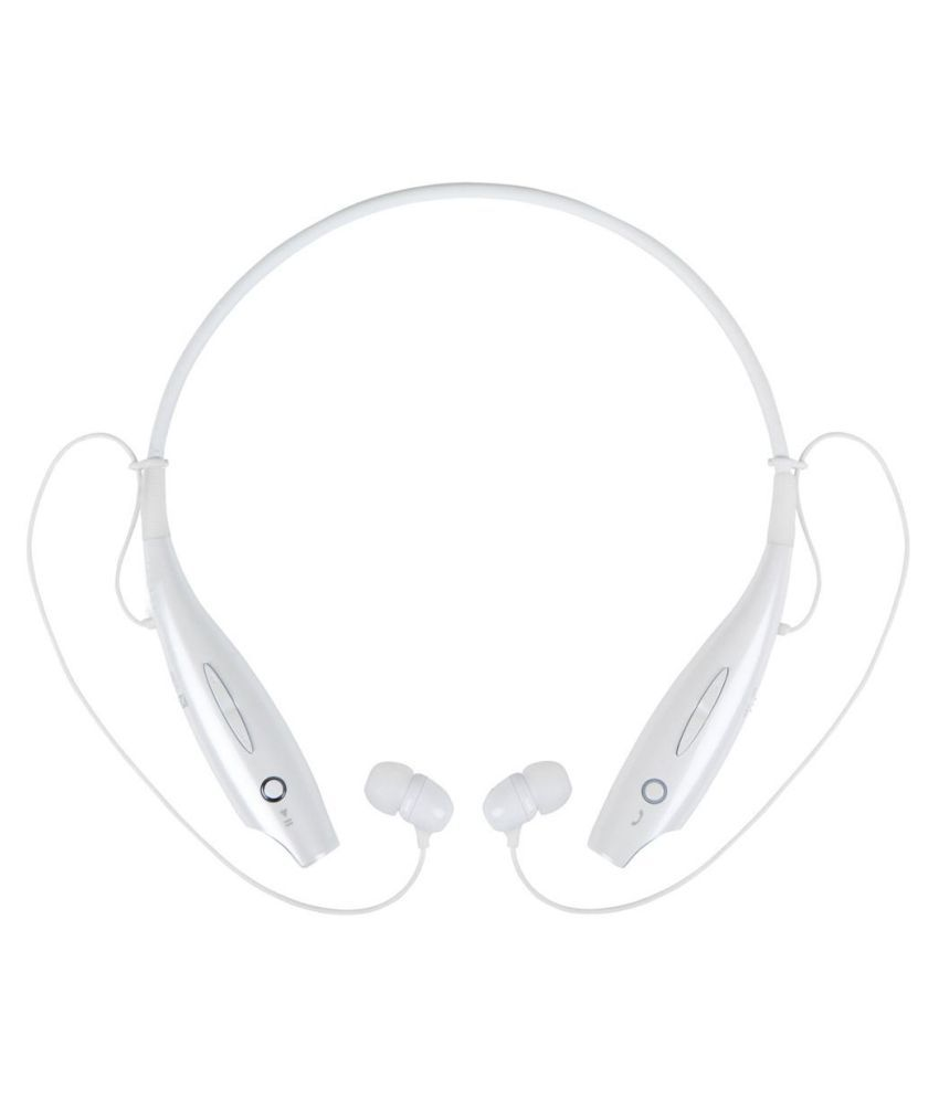 LatestTrend HBS730 For Canvas 2  Bluetooth Headset - White