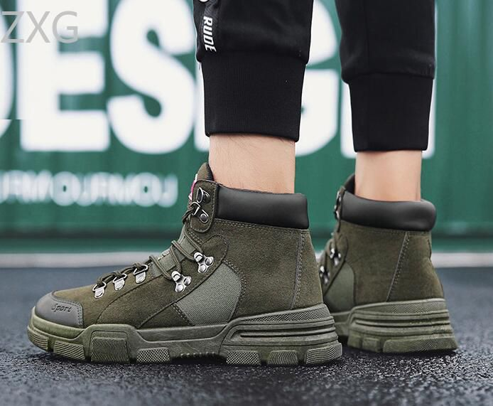 Niti Green Casual Boot