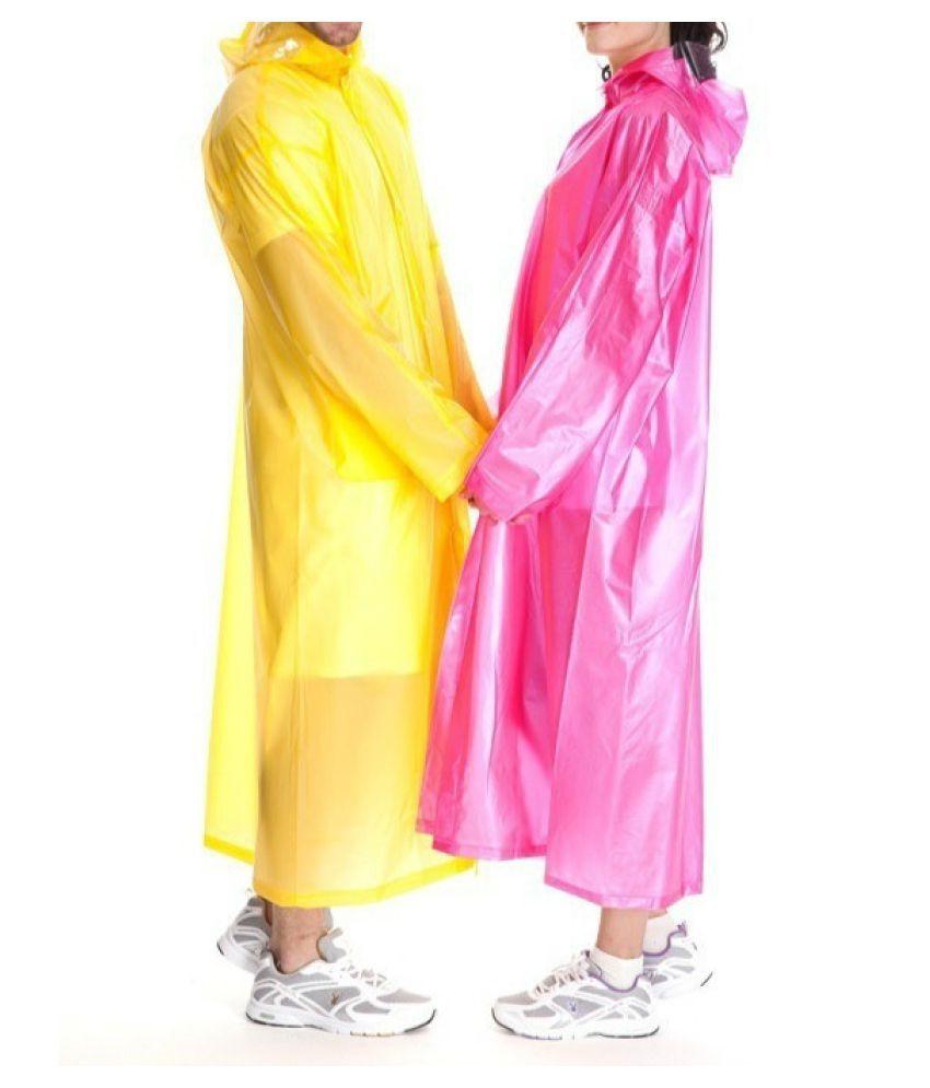 Destiny Waterproof Long Raincoat - Green