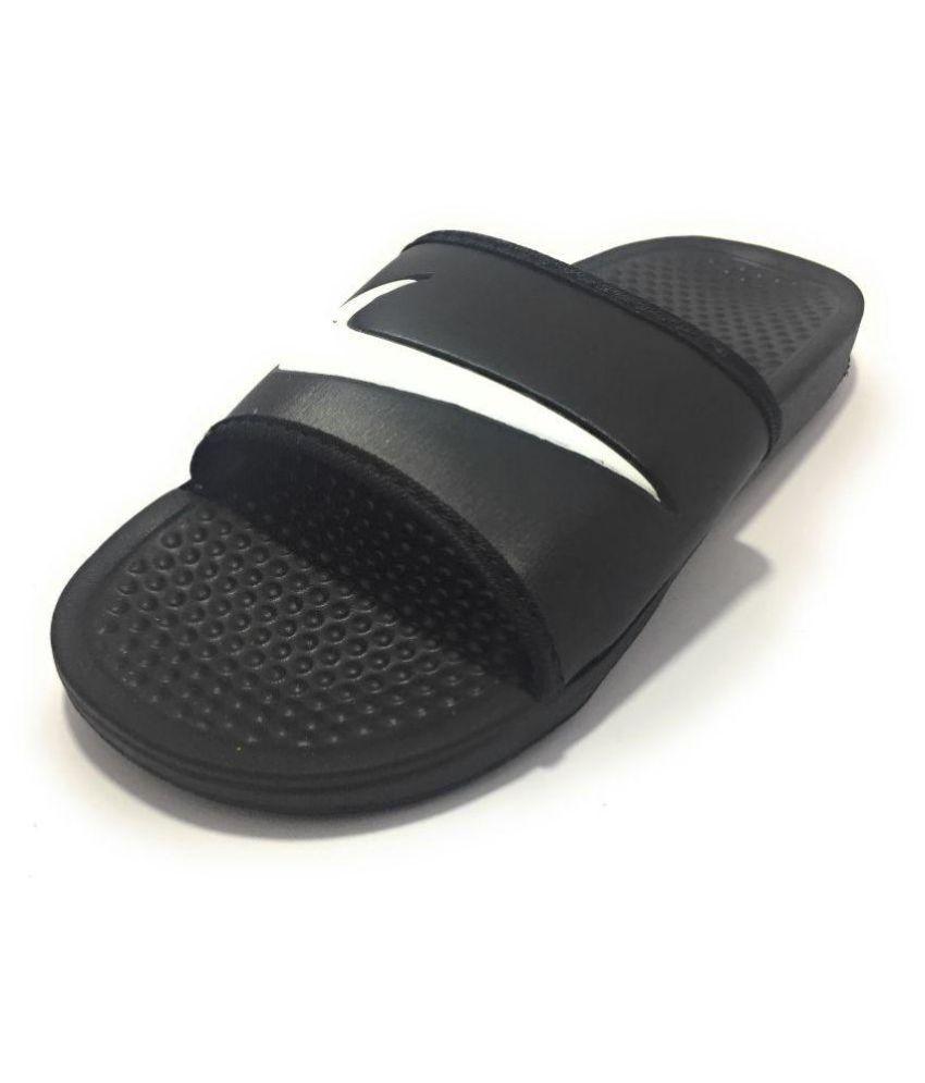 best service c5f13 81c11 Nike Black Slide Flip flop