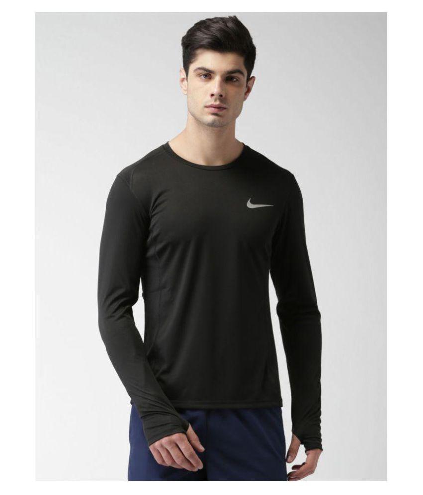 Black Shirt Buy Single Polyester Nike Pack Lycra T fqACIdxw