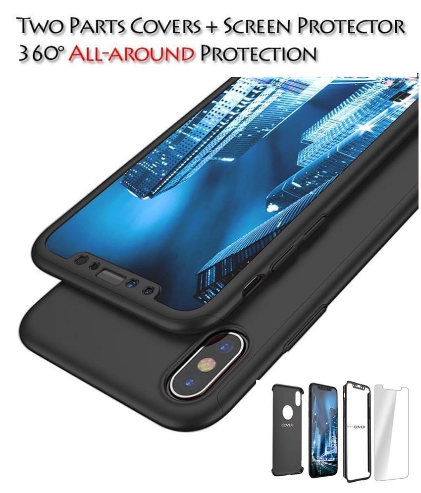 552dc689a7 -75% MI REDMI NOTE 5 PRO Plain Cases with screen protector Tidel -.