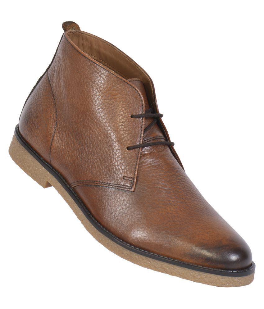 MASABIH TAN Chukka boot