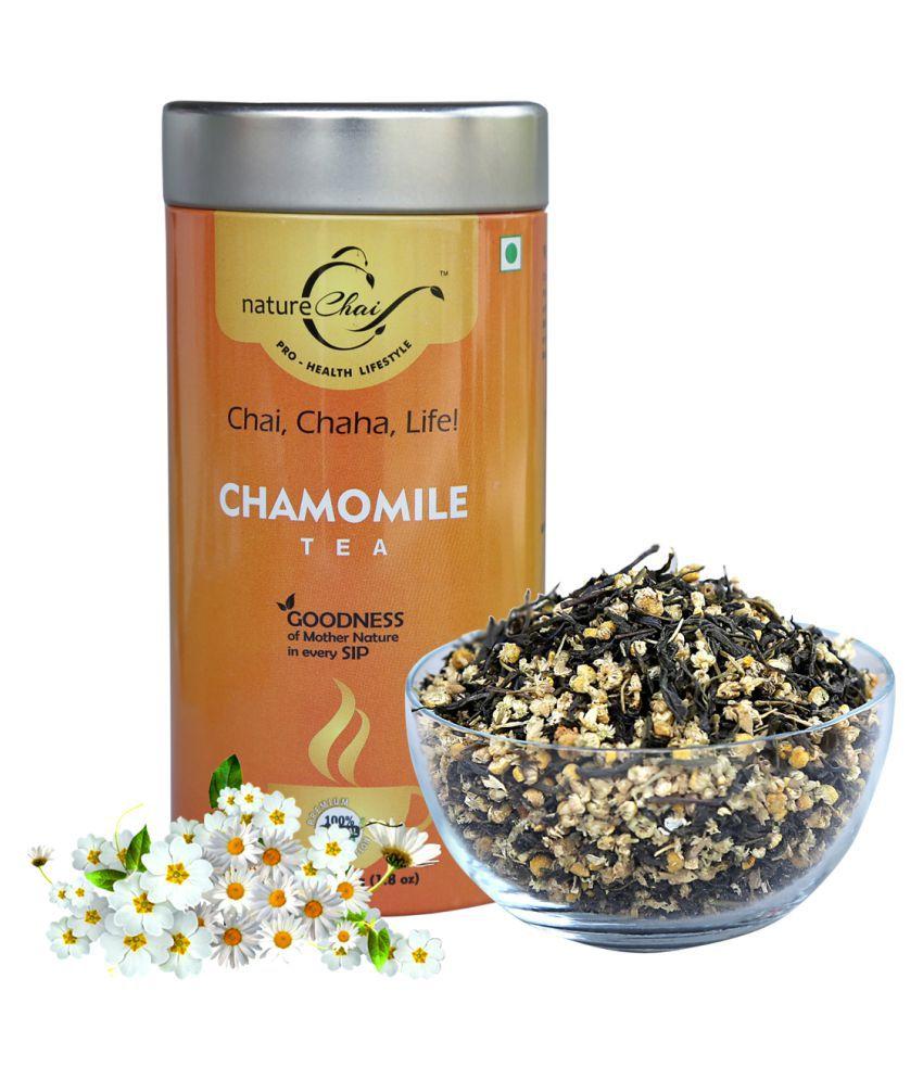 nature Chai Chamomile Tea Loose Leaf 50 gm