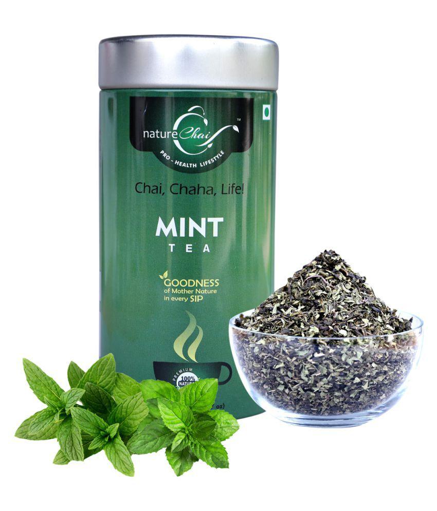 nature Chai Mint Tea Loose Leaf 75 gm