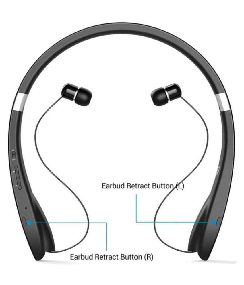 1916048f3a6 ... Portronics HARMONICS 200 In Ear Wireless Earphones With Mic Neck band  ...