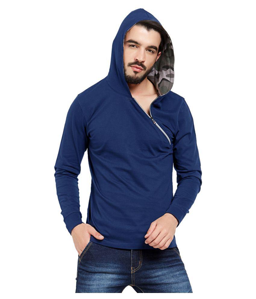 Maniac Navy Full Sleeve T-Shirt