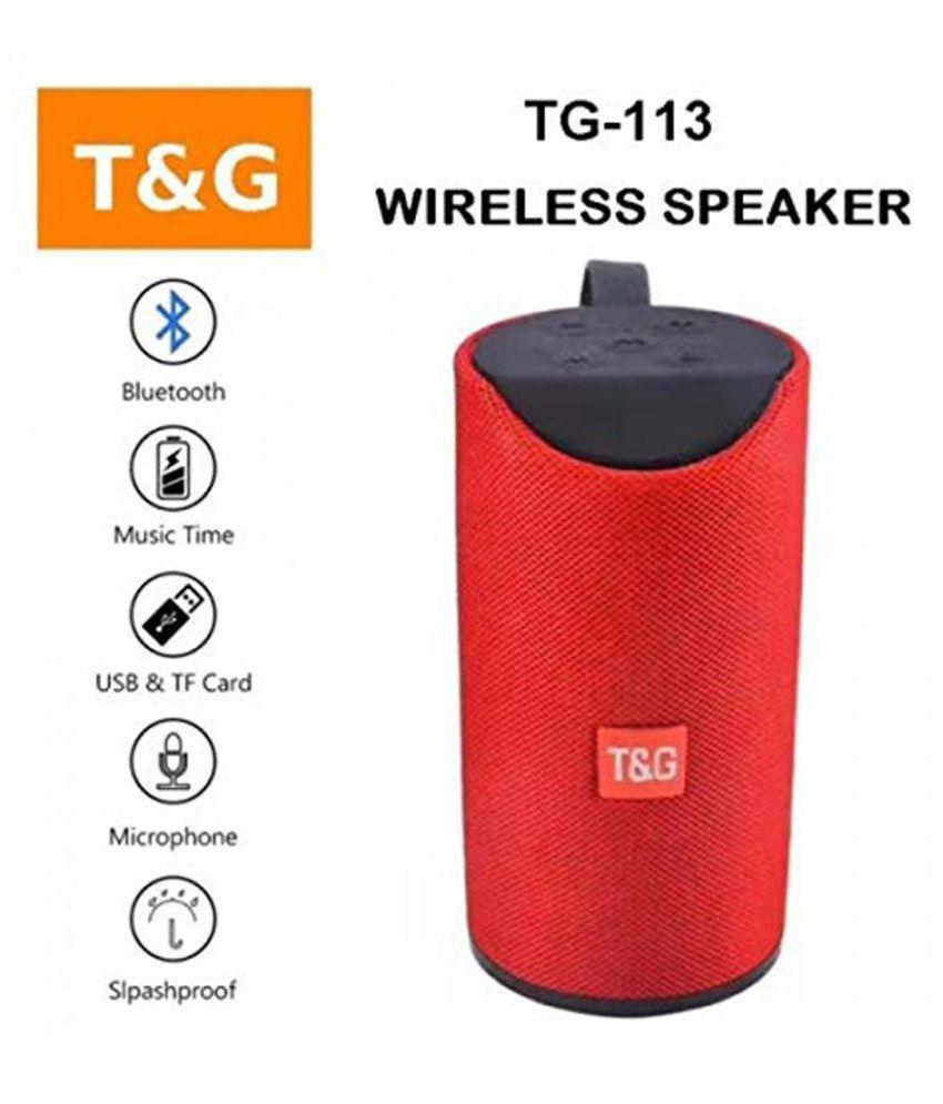 ANIMATE TG113 Super Wirless  BT Speaker Best Sound Quality Bluetooth Speaker