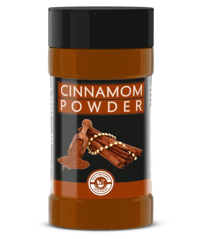 Holy Natural 100% Pure and Natural Cinnamon Dalcheeni Powder Powder 85 gm