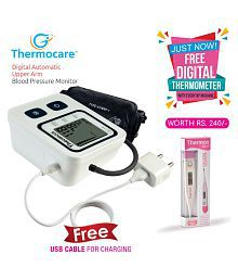 Thermocare Adaptor BP DIGI+ Digital Automatic Blood Pressure Monitor