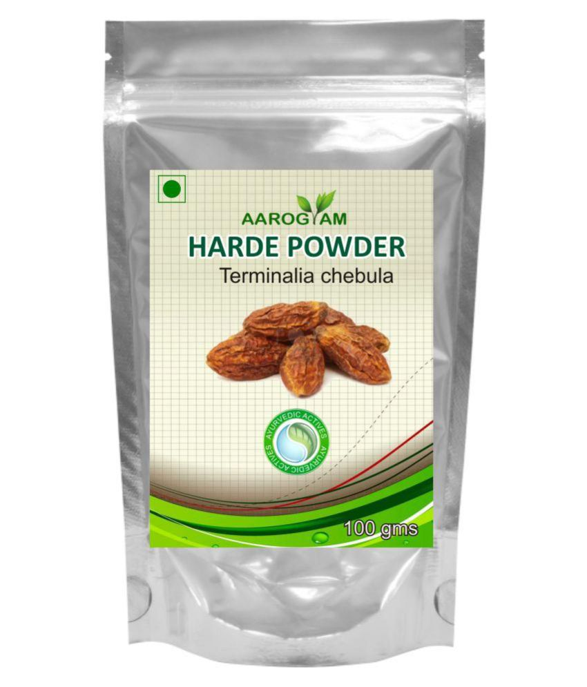 Aarogyam Harde Powder 100 gm Pack Of 2