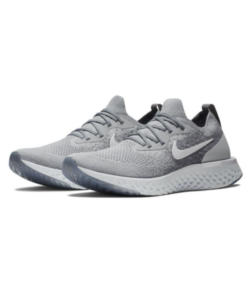 Nike Grey Running Shoes - Buy Nike Grey Running Shoes Online at Best Prices  in India on Snapdeal f4ae97fc2